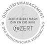 Zertifikat nach DIN EN ISO 9001